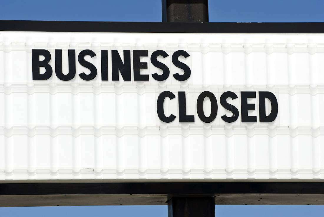Business Closed due to GDPR violations