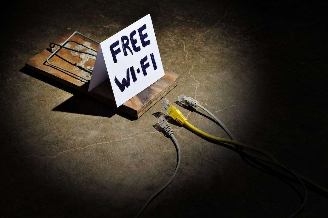 Free Wi-fi can be unsafe and dangerous