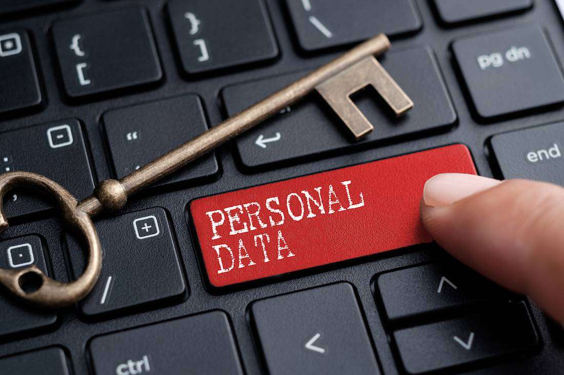 Keep your personal data safe
