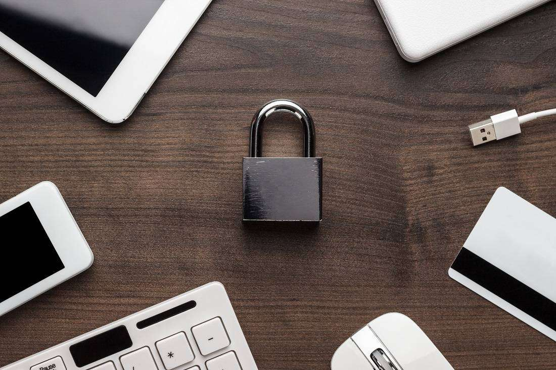 Padlocks and IT devices